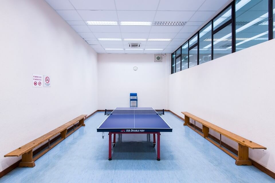 Table Tennis Rooms